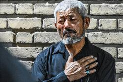 عزاداری مهاجرین افغانستانی مقیم اراک