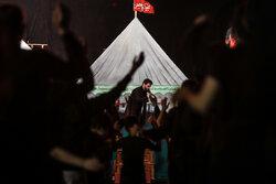 مراسم عزاداری شب عاشورای حسینی (ع) در هیئت میثاق با شهدا