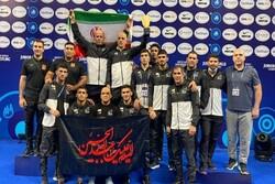 ايران تحرز المركز الأول ببطولة العالم للمصارعة الحرة