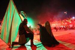 شب های محرم در هیات یاحسین (ع) بندرگز