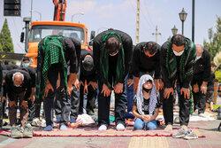 اقامه نماز ظهر عاشورا در سمنان