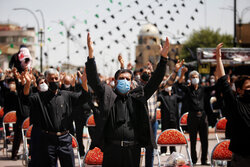 VIDEO: Ashura mourning ceremony in Charbagh