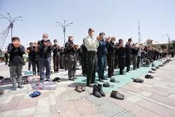 نماز ظهر عاشورا در ورامین اقامه شد