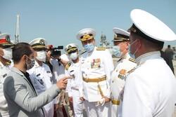 ناوگروه روسیه در بندرگاه انزلی پهلو گرفت