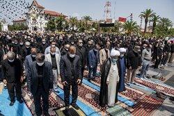 اقامه نماز ظهر عاشورا در شهرهای مختلف گیلان
