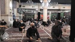 مراسم شب عاشورا هیئت عشاق المهدی (عج) استان تهران برگزار شد
