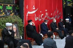 صدارتی محل میں صدر رئیسی کی موجودگي میں مجلس عزا منعقد
