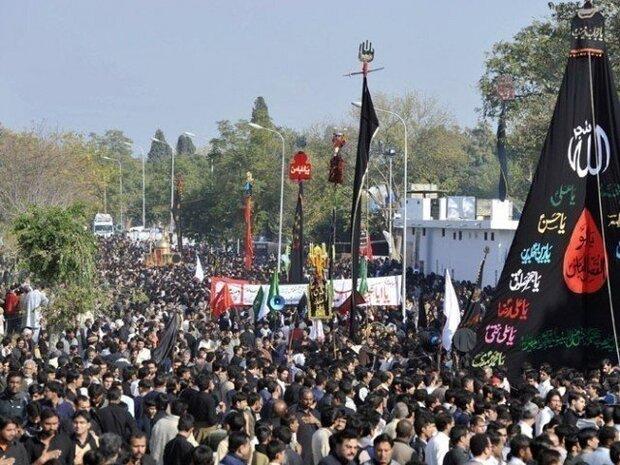 پاکستان میں شہدائے کربلا کا چہلم مذہبی عقیدت اور احترام کے ساتھ منایا جارہا ہے