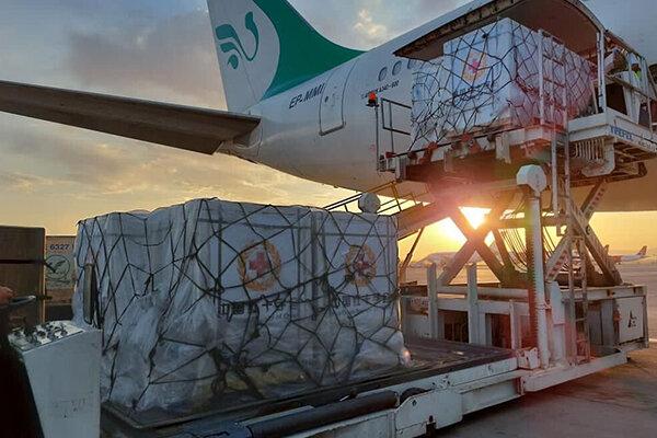 شحنة جديدة من لقاح كورونا تصل الى ايران