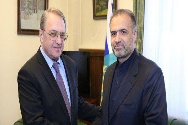 Iran, Russia discuss regional developments