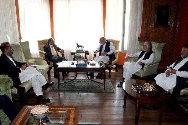 افغانستان میں پاکستانی سفیر کی حامد کرزئی اور عبداللہ عبداللہ سے ملاقات