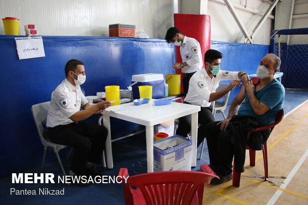 Total vaccine jabs in Iran hit 28.4m