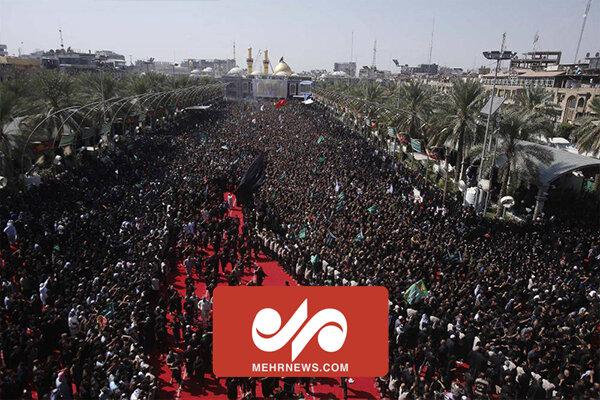 VIDEO: Tawirij mourning procession in Karbala
