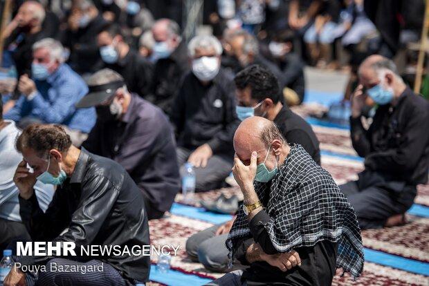 نماز ظهر عاشورا در رشت