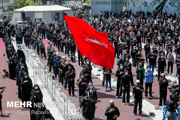 Ashura Day mourning ceremony marked in Tehran