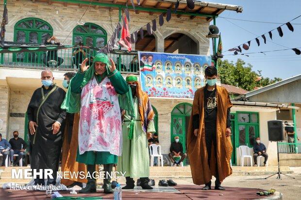 İran'da Kerbela şehitleri için taziye töreni düzenlendi