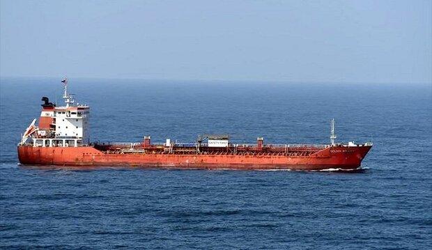 """الكذبة الصهیوغربیة التي فضحها رسو سفينة """"غولدن بريليانت"""" في ميناء ايراني"""