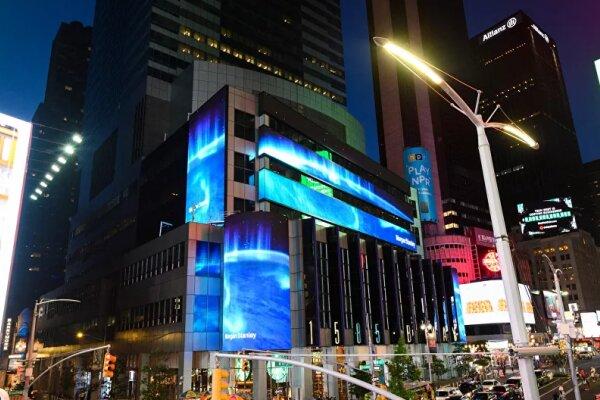 پلیس کلانشهر نیویورک میدان تایمز را تخلیه کرد