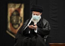 Ayetullah Hamenei'nin huzurunda Şam-ı Gariban merasimi