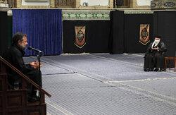 Leader attends mourning ceremony of 'Sham-e-Ghariban'