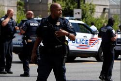 یک فرد مشکوک در اطراف کنگره آمریکا بازداشت شد