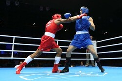 Young Iranian boxing fighter wins gold medal in Asian C'ships