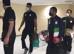 نخستین گروه از کاروان پارالمپیک ایران وارد توکیو شد