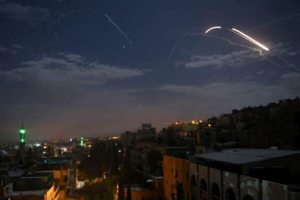 Syrian air defense confronts Zionist regime's attack in Homs