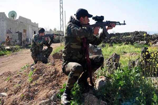 Five Syrian soldiers killed in terrorist attack in Daraa prov