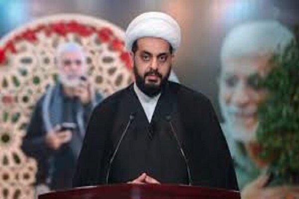 الخزعلی: مقاومت عراق در قبال این خیانت بزرگ ساکت نخواهد ماند