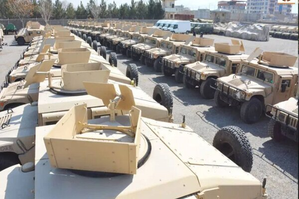 Taliban seized 2,000 armored vehicles, 40 choppers