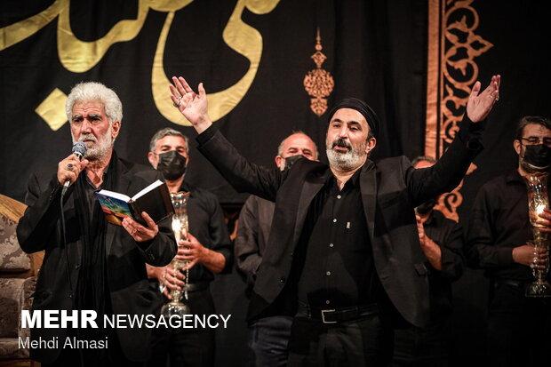 مراسم شام غریبان حسینی در زنجان