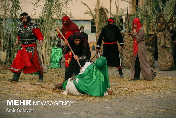 Ta'zieh performance in Semnan