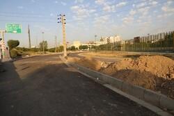 پیشرفت ۹۰ درصدی عملیات احداث رمپ تقاطع بزرگراه شهید کاظمی و شکوفه