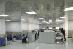 افتتاح بیمارستان دائمی تنفسی ارتش در رشت