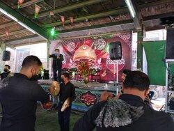 عزاداری مردم اردستان در محرم ۱۴۰۰