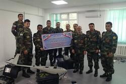 Iran's Army Ground Force UAV team arrives in Kazakhstan