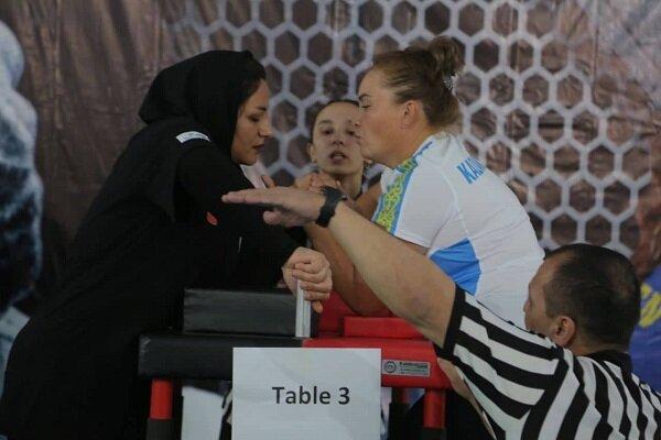 Iranians grab medals in Kazakhstan Arm-wrestling C'ship