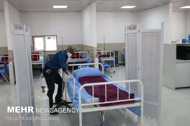 افتتاح بیمارستان پیشرفته حاد تنفسی در رشت