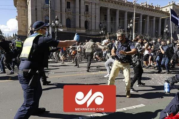 VIDEO: Protests against COVID lockdowns in Australia