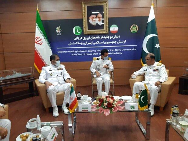 ايران وباكستان تسعيان لتوفير الامن الاقليمي