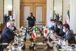 ایرانی وزیر خارجہ سے جاپان کے وزیر خارجہ کی ملاقات