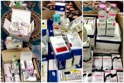 کشف بیش از ۷ هزار عدد داروهای غیرمجاز در نظرآباد