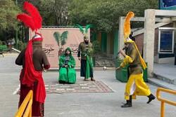 اجرای «تعزیت خورشید» در بوستان شریعتی
