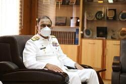 فرمانده نیروی دریایی ارتش پاکستان از منطقه چهارم نداجا بازدید کرد