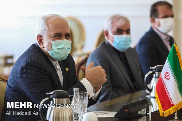 Zarif, Motegi meet in Tehran