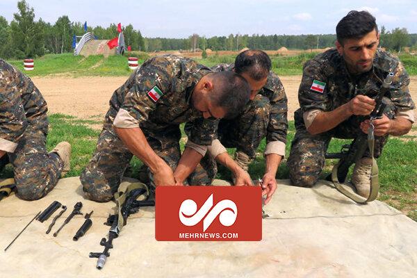 VIDEO: Intl. army games kick off in Shahinshahr