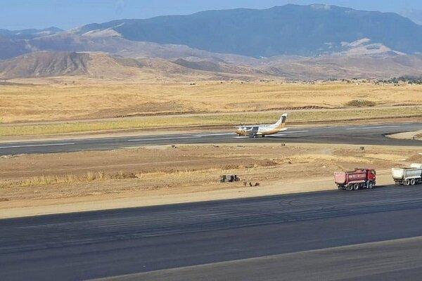 Azerbaycan'ın Fuzuli Uluslararası Havalimanı'nda test uçuşu yapıldı