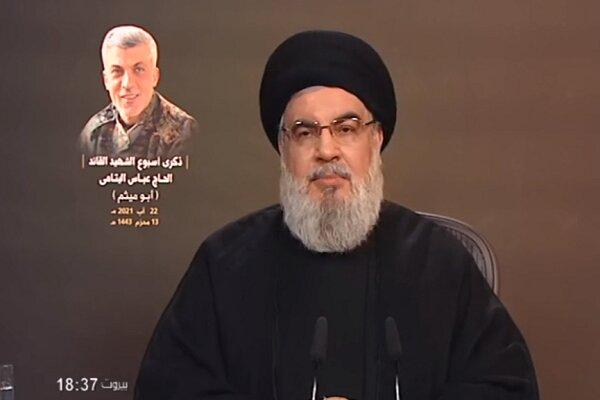 السيد حسن نصرالله: السفارة الأمريكية تدير المعركة ضد المقاومة في لبنان