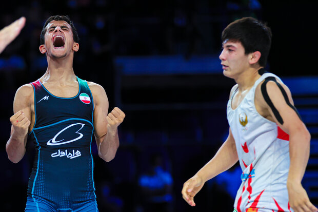 Iran Greco-Roman Wrestling runner-up at Junior World